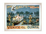 Imre Kiralfy's Greatest of All Spectacles, Venice Giclee Print