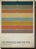 The Princess and the Pea キャンバスプリント : Christian Jackson