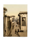 The Street Called Straight, Damascus, Holy Land Giclee Print