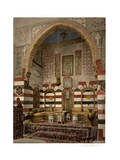 Interior of a House, Damascus, Holy Land Giclee Print