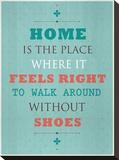 Without Shoes Impressão em tela esticada por Meme Hernandez
