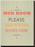 Mud Room Impressão em tela esticada por Meme Hernandez