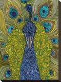 The Peacock Impressão em tela esticada por Valentina Ramos