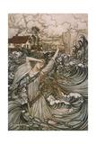 Undine, De La Motte Giclee Print