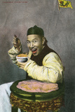 Chinaman Chow-Chow Photographic Print