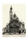 Paris, France - Eglise Saint-Etienne Du Mont Giclee Print