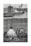 19th Century Dive Bell Giclee Print