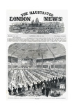 Illustrated London News Front Cover - Shakespeare Commemoration Banquet Giclee Print