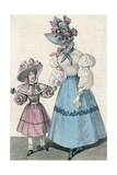 Skirt and Blouse 1828 Giclee Print