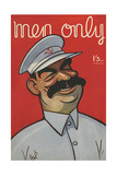 Cover Design, Men Only, Josef Stalin Giclee Print