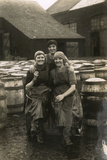 Scotch Fisher Girls, Great Yarmouth, C.1915 Photographic Print
