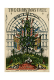 Christmas Tree 1851 Giclee Print