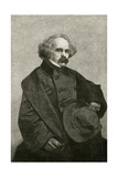 Nathaniel Hawthorne, 1862 Giclee Print