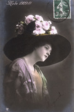 The Hat of 1909 Photographic Print