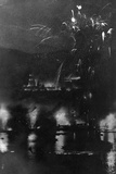 Heidelberg Fireworks Photographic Print