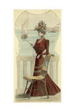 Seaside Dress 1890 Giclee Print