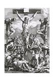 Jesus on Cross Wydruk giclee