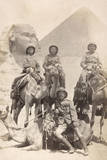 Soldiers Pose, Sphinx Photographic Print