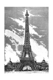 Paris, France - La Tour Eiffel Giclee Print