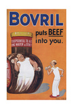 Bovril Advertisement Giclee Print