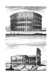 Colosseum, Rome 1st, 18th Century Giclee Print