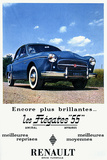 Renault 1955 Photographic Print