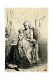 Marie Antoinette and Dauph Giclee Print