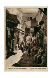 Street Market in Old City, Jerusalem Photographic Print