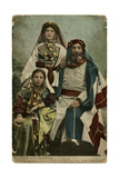 Dr Howie and His Daughters, Beirut Photographic Print
