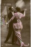 Tango Dress Trailing Photographic Print