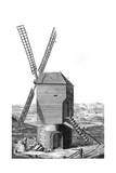 Windmill in France 18Th Giclee Print