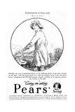 Pears' Soap Advertisement, Land Girl, 1918 Giclee Print