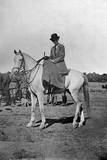 Gertrude Bell on Horseback - Baghdad, Iraq Photographic Print