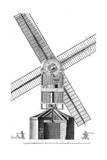 Windmill in 18th C. Giclee Print