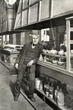 Thomas Edison, Leaning Photographic Print