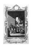 Eadwig Rebuked by Dunstan Giclee Print
