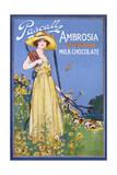Advert, Devonshire Choc Giclee Print