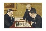 Alexander Alekhine Giclee Print