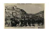 Scots Battalion at Es Salt, Palestine, WW1 Photographic Print