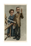 Marie and Pierre Curie Giclee Print