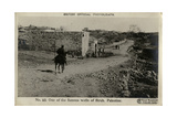 One of the Wells of Al Bireh, Palestine, WW1 Photographic Print