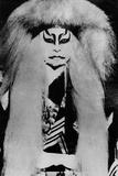 Japanese Acting Mask Photographic Print