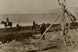 The Dead Sea, Near Jerusalem Photographic Print