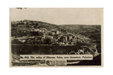 Valley of Hinnom, Suloe, Near Jerusalem Photographic Print