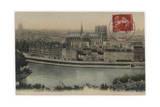Paris, La Cite 1906 Giclee Print