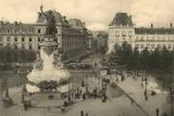 Paris Place Republique Reproduction photographique