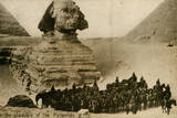 Sphinx and Pyramids, Giza, Egypt Photographic Print