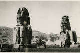 Colossi of Memnon, Thebes, Egypt Photographic Print
