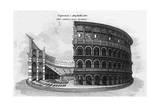 Rome, Colosseum C1820 Giclee Print