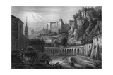 Salzburg Church Etc Giclee Print